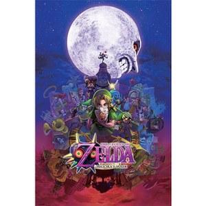 Nintendo The Legend Of Zelda Majora's Mask - 24 x 36 Inches Maxi Poster