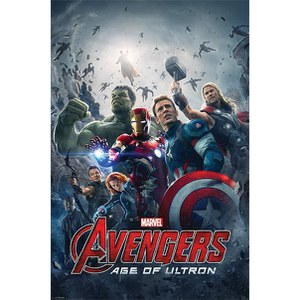 Marvel Avengers Age Of Ultron One Sheet - 24 x 36 Inches Maxi Poster