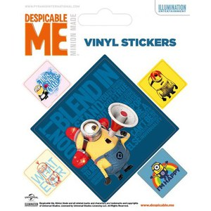 Despicable Me Minions Square - Sticker