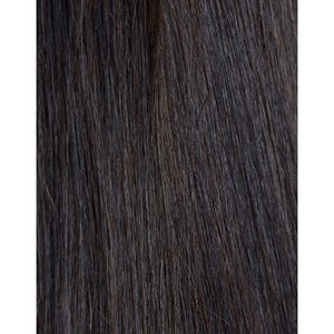 Beauty Works 100% Remy Colour Swatch Hair Extension - Ebony 1B