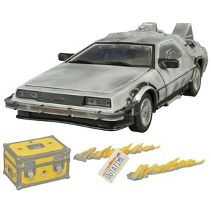 Diamond Select Back to the Future Iced Time Machine 30th Anniversary Edition Model