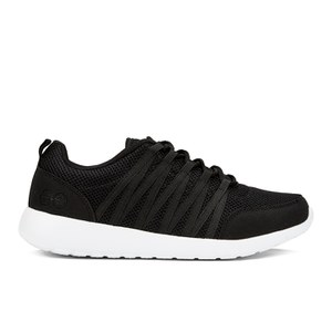 Crosshatch Men's Primeval Trainers - Black/White