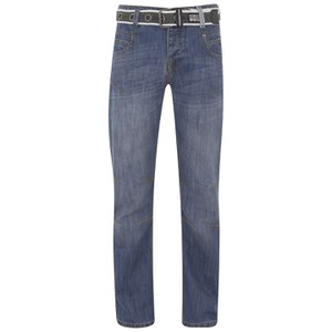 Crosshatch Men's Oakland Jeans - Stone Wash