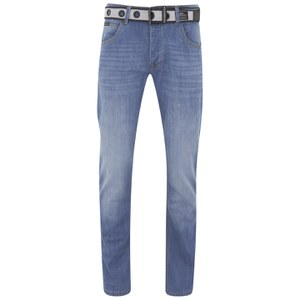 Crosshatch Men's Valerian Jeans - Light Wash