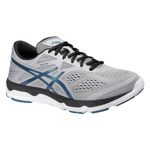Asics Men's 33 FA Running Shoes - Silver Grey/Mosaic Blue/Onyx