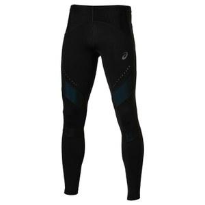 Asics Men's Leg Balance Running Tights - Performance Black/Mosaic Blue