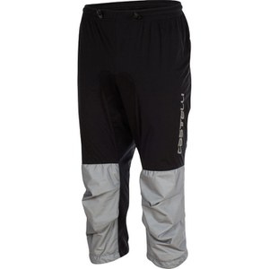 Castelli Tempesta 3/4 Trousers - Black/Grey