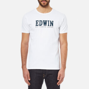 Edwin Men's Logo Type 2 T-Shirt - White
