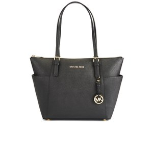 MICHAEL MICHAEL KORS Women's Jet Set Pocket Tote - Black