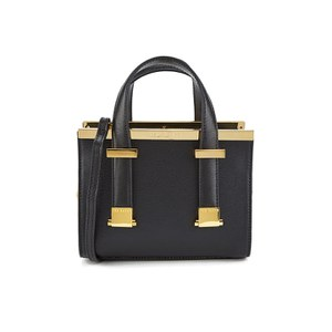 Ted Baker Women's Minibet Metal Bar Miniature Tote - Black