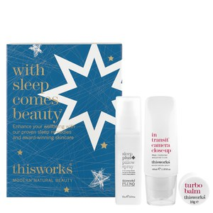this works with Sleep Comes Beauty Heroes Xmas 15 Gift Set (Worth £45.00)