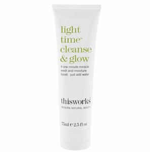 this works Light Time Cleanse and Glow Cleanser (75ml)
