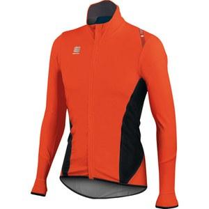 Sportful Fiandre Light NoRain Long Sleeve Jersey - Red/Black