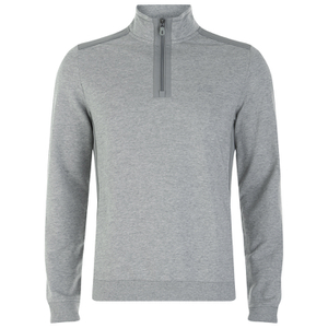 BOSS Green Men's Sweatshirt 1 Nylon Combi Hoody - Grey