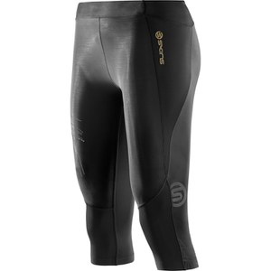 Skins A400 Women's Starlight 3/4 Compression Tights - Black
