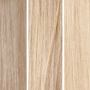 Beauty Works 100% Remy Colour Swatch - Light Blonde Bundle