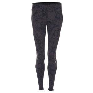 adidas Women's Supernova Graphic Long Running Tights - Brown/Black