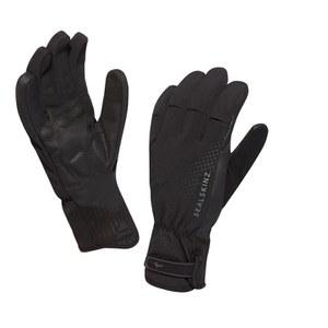 SealSkinz Brecon XP Cycle Gloves - Black/Black