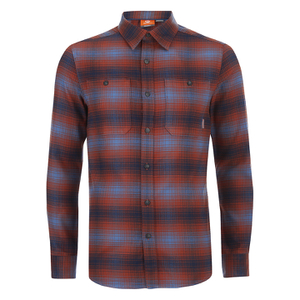 Merrell Subpolar Flannel Shirt - Dark Rust