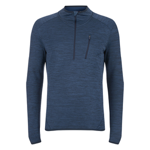 Merrell Fraxion Balaclava Half Zip Top - Legion Blue Heather