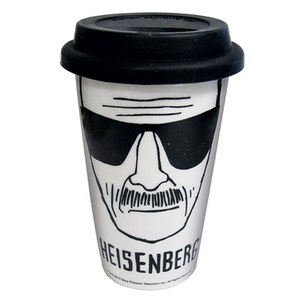 Heisenberg Ceramic Travel Mug
