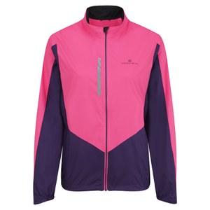 RonHill Women's Vizion Windlite Jacket - Pink/Wildberry