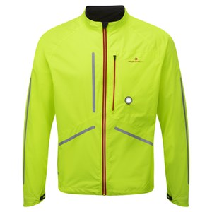 RonHill Men's Vizion Photon Jacket - Yellow/Red