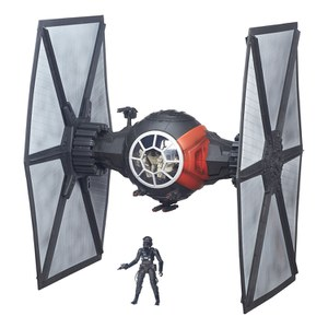 Star Wars The Force Awakens Black Series First Order Special Forces Tie Fighter Starfighter Deluxe 6 Inch Vehicle
