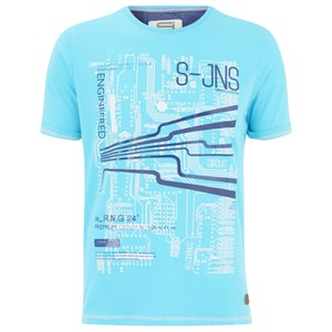 Smith & Jones Men's Dillington Print T-Shirt - Capri