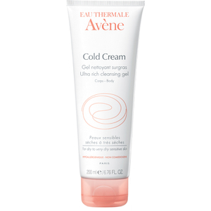 Gel Limpiador Avène Cold Cream Ultra Rich (200ml)