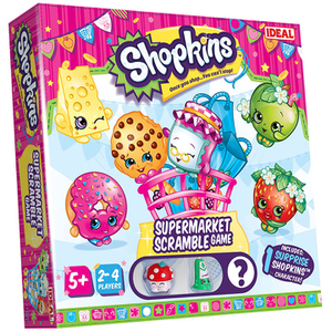 John Adams Shopkins Supermarket Scramble Game