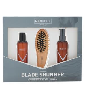 Men Rock Blade Shunner Kit (Beard Balm, Beard Soap, Beard Brush, Gift Box)