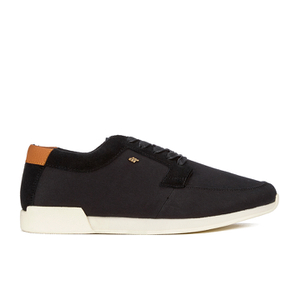 Boxfresh Men's Coul Garment Dye/Suede Low Top Trainers - Black