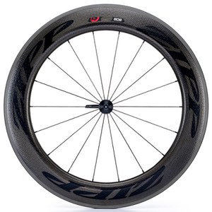 Zipp 808 Firecrest Carbon Clincher Front Wheel 2016 - Black Decal