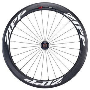 Zipp 404 Firecrest Tubular Track Front Wheel - White Decal