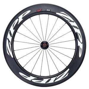 Zipp 808 Firecrest Tubular Track Front Wheel - White Decal
