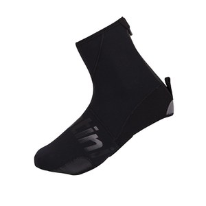 Santini Neo Dark Waterproof Shoe Covers - Black