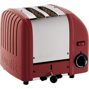 Dualit 20442 Classic Vario 2 Slot Toaster - Red