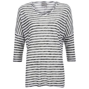 Vero Moda Women's Anna Asti 3/4 Printed Top - Snow White