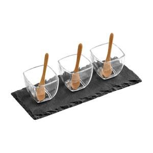 Premier Housewares Slate Tapas Set
