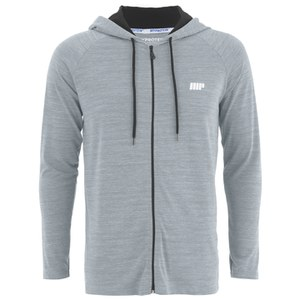 Myprotein Performance Zip Hoodie Herr - Grey Marl