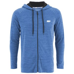 Myprotein Men's Performance Zip Hoodie - Blue Marl