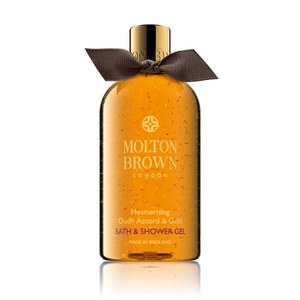 Molton Brown Mesmerising Oudh Accord and Gold Bath and Shower Gel Christmas Edition