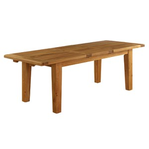 Vancouver Oak VXD001 Extension Dining Table - 2540mm
