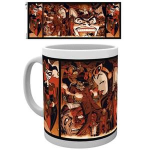 DC Comics Batman Harley Quinn Villians - Mug