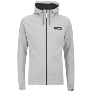 Gio-Goi Men's Vantage Zip Through Hoody - Grey Marl
