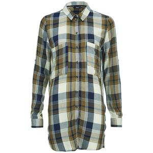 ONLY Women's Nex Long Sleeve Loose Shirt - Golden Brown