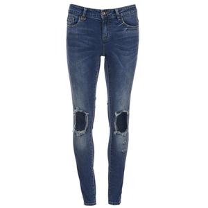 ONLY Women's Ultimate Skinny Jeans - Medium Blue Denim