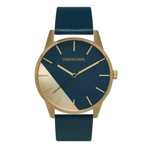 UNKNOWN Men's The Urban Watch - Urban Geo Navy/Gold
