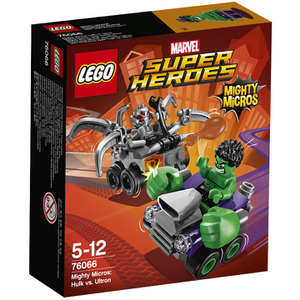 LEGO DC vs. Marvel: Mighty Micros: Hulk vs. Ultron (76066)